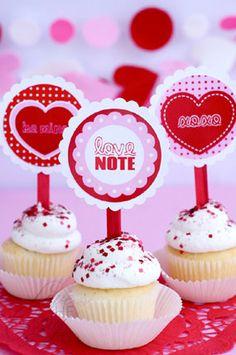 V-Day Cupcakes