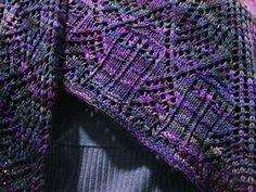 Trillixagon Shawl: Tardis Variation Knitting pattern by Margaret Mackenzie Knitting Charts, Knitting Socks, Knitting Patterns Free, Free Knitting, Baby Knitting, Crochet Patterns, Free Pattern, Knit Or Crochet, Crochet Shawl