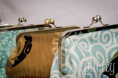 http://sewplicity.com/2013/09/tutorial-frame-purse/