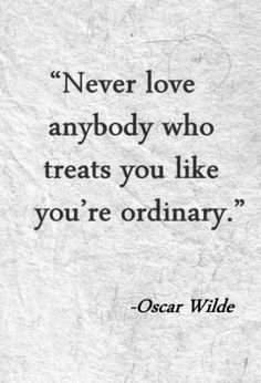 anything but ordinary