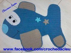 Alfombra de ganchillo Fusquinha (paso a paso) - Maricelia Cardoso, Crochet Carpet, Crochet Home, Crochet Baby, Knit Crochet, Crochet Applique Patterns Free, Embroidery Applique, Painting Carpet, Baby Knitting, Crochet Projects