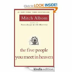 Amazon.com: The Five People You Meet in Heaven eBook: Mitch Albom: Books