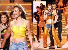 Thalia que é sempre sensual canta na Espanha =D