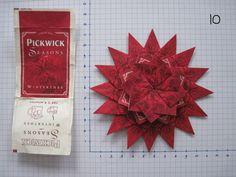 3 laags gemaakt van 32 theezakjes Pickwick winterthee