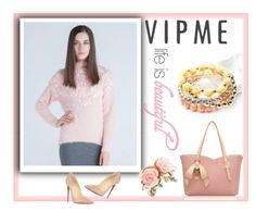 """""""Vipme #15"""" by minka-989 ❤ liked on Polyvore featuring Christian Louboutin, women's clothing, women, female, woman, misses, juniors and vipme"""