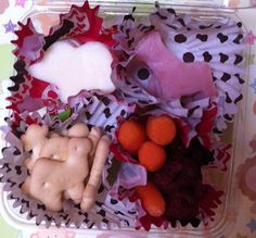 It's a ZOO In Here - Lunchables-style Disposable Bento
