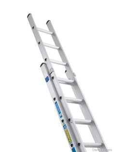 £118.40 Industrial Double Ladder - Zarges. This double ladder will set you at an advantage. The Zarges Two part Industrial extension Ladder is designed with D-shaped rungs for comfortable horizontal surface during use. Smooth action when extending and retracting this ladder is guaranteed by the box section stiles.  BS 2037 Class 1 (175 kilo rating) and EN 131 (150 kilo rating) compliant. Easy, precise rung-by-rung. adjustment.