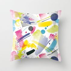 Drop Throw Pillow by DLKG Design - $20.00