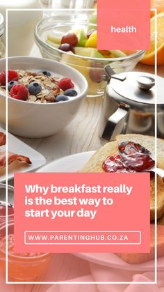 The importance of breakfast has long been a part of the prevailing wisdom, and the habit of eating breakfast has always been a marker of a healthy lifestyle. Yet, if there's a meal that is going to be skipped, it's probably breakfast; and this is a pity because research clearly shows that there are many vital health benefits associated with eating breakfast regularly. Studies show that 1 in 5 South African children skip breakfast.