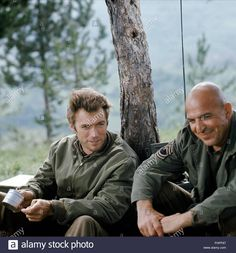Clint Eastwood & Telly Savalas Kelly's Heroes (1970)