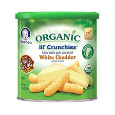 GERBER® Graduates® Pudding Grabbers™ are made with real fruit & milk. It contains no artificial flavors, colors or sweeteners. Corn Snacks, Baby Snacks, Baby Food Recipes, Snack Recipes, White Cheddar, Kids Nutrition, Natural Flavors, Kids Meals, Healthy Eating