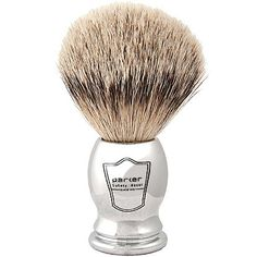 Silvertip Badger Bristle Shaving Brush (Chrome Handle) and Free Shaving Brush Stand from Parker Safety Razor (Health and Beauty) Badger Shaving Brush, Shaving & Grooming, Shaving Tips, Wet Shaving, Best Shaver For Men, Freebies By Mail, Pre Shave, Chrome Handles, Short Hairstyles