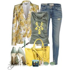 Who can pass a day without wearing jeans? Check this post for some amazing jean outfits for women presented by Stylish eve in various colors & styles.