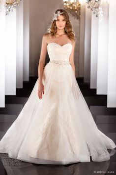 martina liana fall 2013 wedding dress style 461 strapless sweetheart