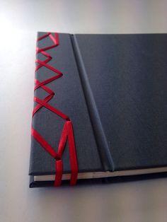 Photo album with Japanese stab binding
