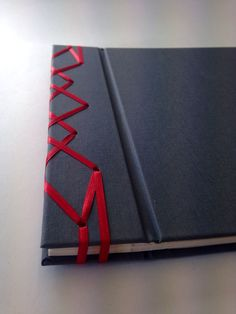 Photo album with Japanese stab binding