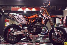 Supermoto KTM 2012