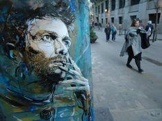 C215, retratos en Barcelona