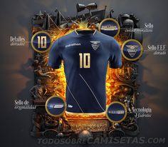 Camisetas Marathon de Ecuador Copa América Centenario