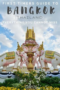 Here's what not to miss in Bangkok, a must read for any first time visitors to Thailand | #bangkok #thailand #seasia #asiatravel #bestintravel #bestofthailand #backpacking #gapyear #travel