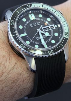 Bremont Supermarine 500 Dive Watch.  Good looking and rugged.