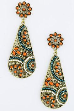 Malani's Dangle Drop Earrings