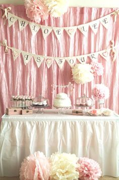 swanky::chic::fete: a DIY birthday party