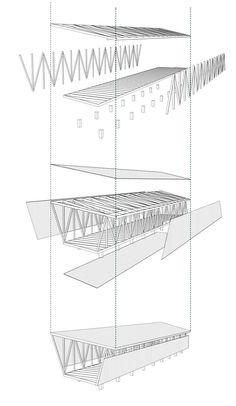 Galería de En Detalle: Cortes Constructivos / Estructuras de Madera - 20