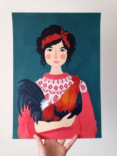 Portrait by Amy Blackwell, 2014/2015. www.amyblackwell.co.uk