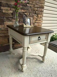 78 delightful side table makeover images in 2019 painted furniture rh pinterest com