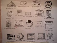 This is for the rubber part only. a unmounted stamp. . The average size of each image is roughly 1 inch wide by 7/8ths tall some vary yes the
