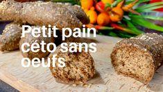 One of the first foods that people are the saddest to part with is … - Modern Sauce Sans Gluten, Meals For One, Food Inspiration, Baked Potato, Zucchini, Low Carb, Vegetarian, Yummy Food, Bread
