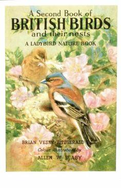 Postcard - British Birds and their Nests - Ladybird Book Cover | eBay
