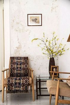 simple rustic modern corner. / sfgirlbybay