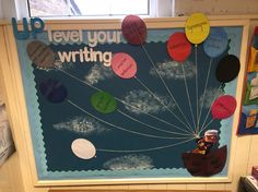 UPlevel your Writing SPaG display board Classroom Displays Ks2, English Classroom Displays, Primary School Displays, Year 4 Classroom, Literacy Display, Classroom Display Boards, Display Boards For School, Ks2 Classroom, Class Displays