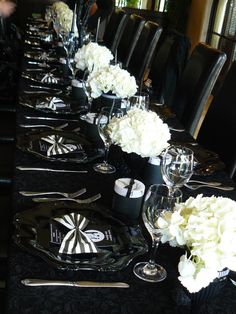 nightmare before christmas silhouette | See the beautiful lace overlay on the table, and the silhouette of ...