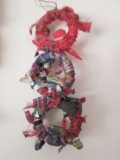 Come riciclare i piccoli ritagli di stoffa...