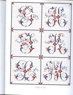 Gallery.ru / Фото #99 - bicolores a broder - miroslava388