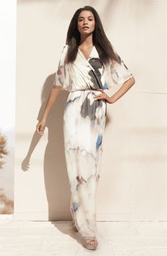GORGEOUS (Alice & Olivia silk maxi dress)