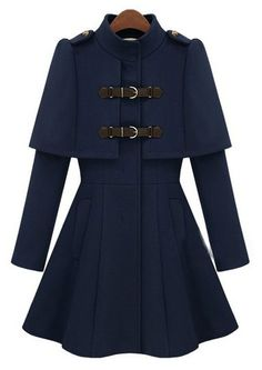 Abrigo marina-azul oscuro EUR€61.59