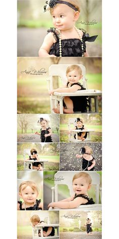 ADORABLE first birthday photo shoot!