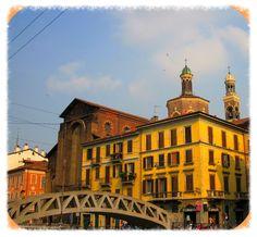 """MILANO   Naviglio Grande """" chiesa di  """"Santa Maria alle Grazie al Naviglio """"   #TuscanyAgriturismoGiratola"""