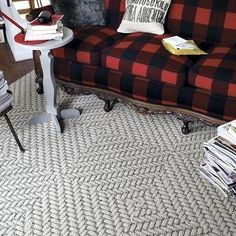 Roadside Attraction Frost White Carpet Tile