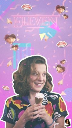 From Stranger Things, Eleven, as a stylized POP vinyl from Funko! Figure stands 3 inches and comes in a window display box. Check out the other Stranger Things figures from Funko! Stranger Things Netflix, Stranger Things Wall, Stranger Things Merchandise, Stranger Things Actors, Stranger Things Aesthetic, Stranger Things Season 3, Millie Bobby Brown, Backgrounds White, Wallpaper Backgrounds