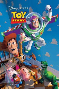 14 Disney Pixar original posters.