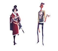 https://www.artstation.com/artwork/toon-characters