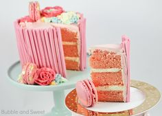 Bubble and Sweet: Sweet Strawberry Layer cake