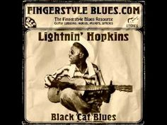 Lightnin' Hopkins - Black Cat Blues