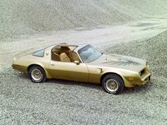 1978 Pontiac Firebird Trans Am Gold Special Edition.