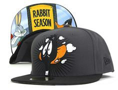 NEW ERA x LOONEY TUNES 「Daffy Bugs」59Fifty Fitted Baseball Cap 662a6c0ee6a